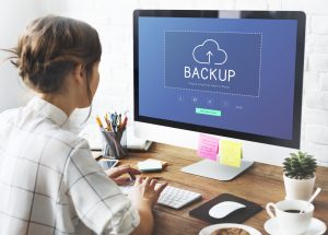Backup is making extra copies of data.